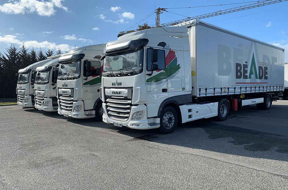Camions Béade